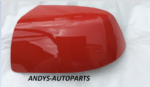 FORD FIESTA 05-08 WING MIRROR COVER LH OR RH SIDE IN COLARADO RED